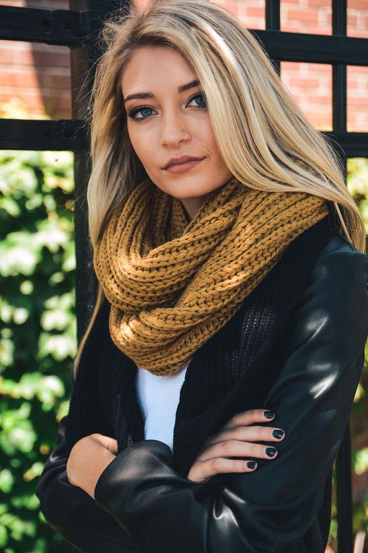 Emma Braided Infinity Scarf - ROUTE 32