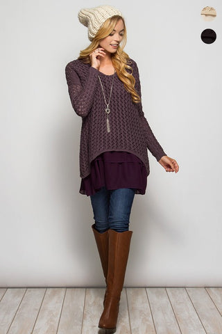 Double Layer Sweater
