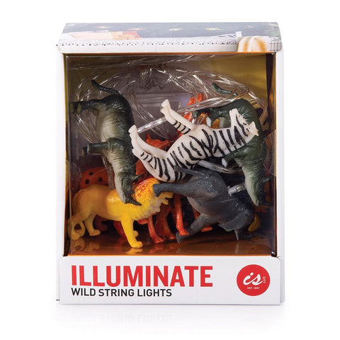 Illuminate String Lights - Wild Animals