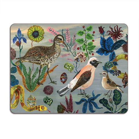 Nathalie Lete Birds in the Dunes Table Mat