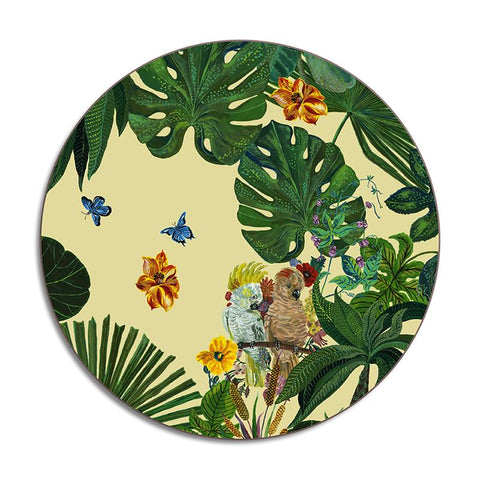 Nathalie Lete Cockatoo Round Placemat
