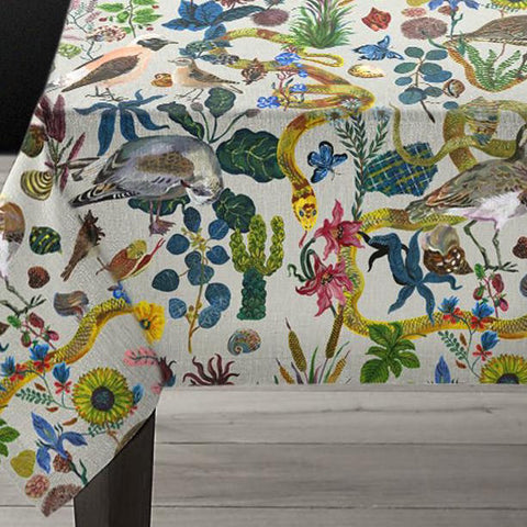 Nathalie Lete Birds in the Dunes Tablecloth Large