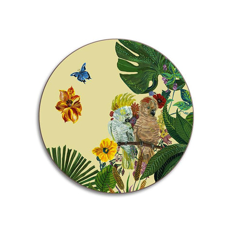 Nathalie Lete Cockatoo Coaster