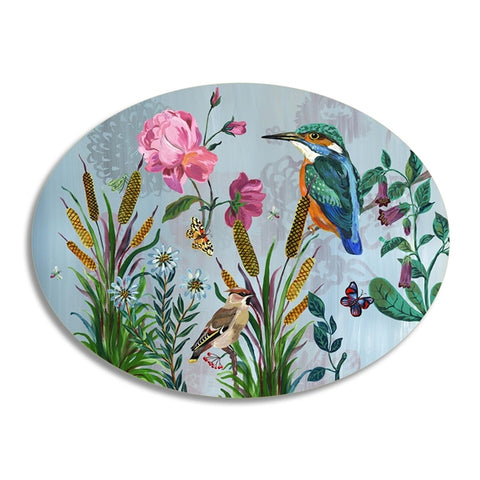 Kingfisher Oval Table Mat