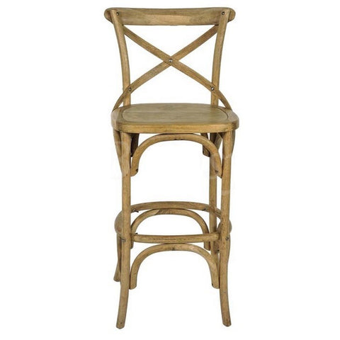 Croix Bar Stool Weathered Oak