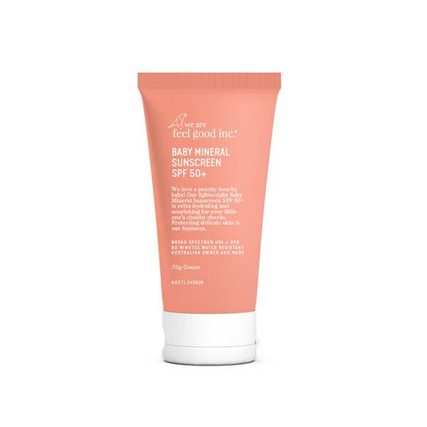 Baby Mineral Sunscreen SPF 50+ - 75ml