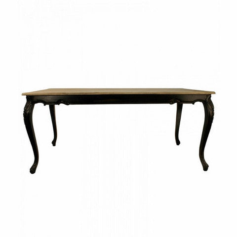 Avignon Dining Table Vintage Black