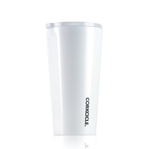 Corkcicle: Dipped Tumbler 475ml - Modernist White