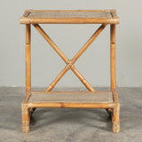 Riviera Two Shelf Side Table