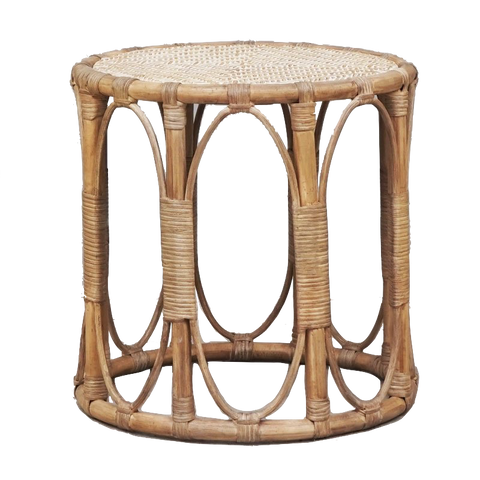 Remy Side Table Rattan - Available January 2021