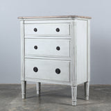 Bellarine Bedside Antique White + Ash