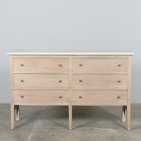 Doulton Chest Of Drawers with Zinc Top