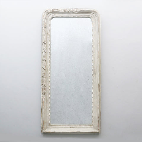 Carved Antiqued Mirror