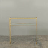 Lille Antique Mirrored Console Table
