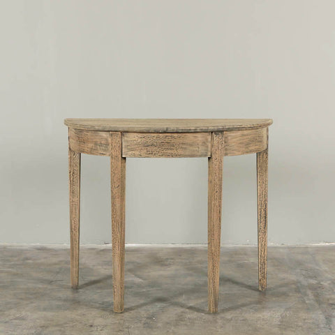 Dante Console Table Dark Wash