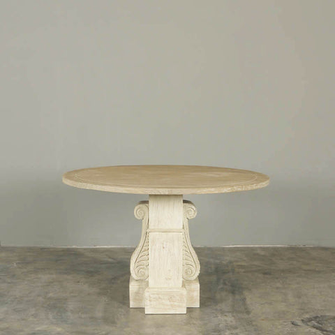 Palazzo Round Pedestal Dining Table