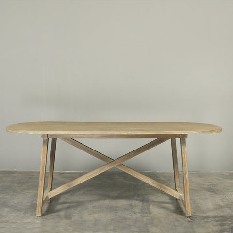 Manyara Oval Dining Table Ash