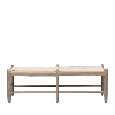 Claude Woven Bench Seat - Available January 2021