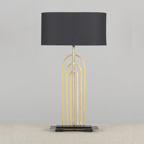 Alma Arch Table Lamp Gold
