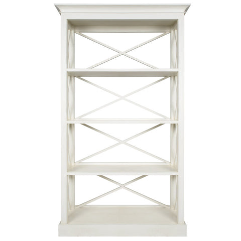 Frejac Bookcase Antique White