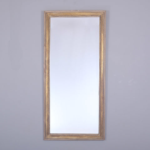 Lille Gold and Washed Timber Mirror