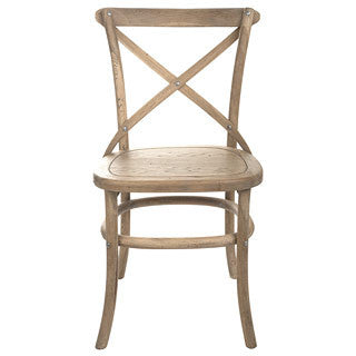 Croix Dining Chair Weathered Oak