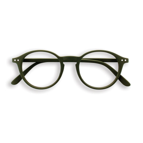 Izipizi Reading Glasses #D Khaki Green