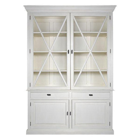 Morgan Buffet and Hutch Antique White