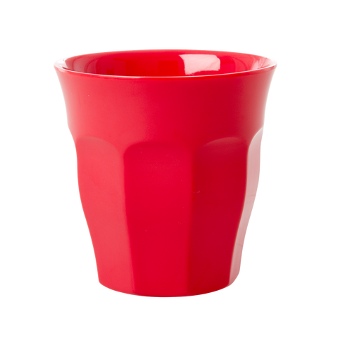 Melamine Cup in Red Kiss - Medium
