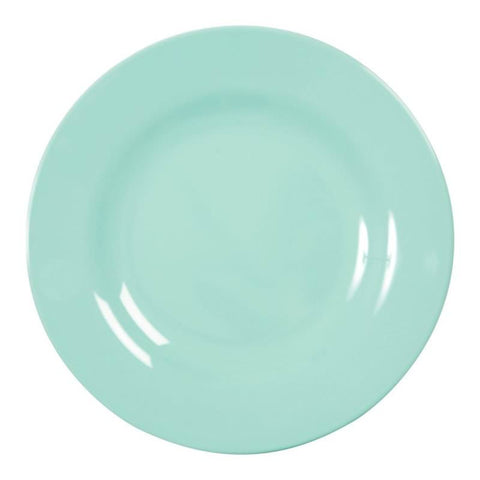 Dark Mint Melamine Dinner Plate