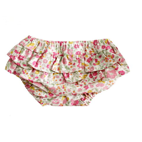 Ruffle Bloomers Rose Garden SMALL 0- 6 months