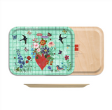 Nathalie Lete Mon Coeur Birch Wood Tray