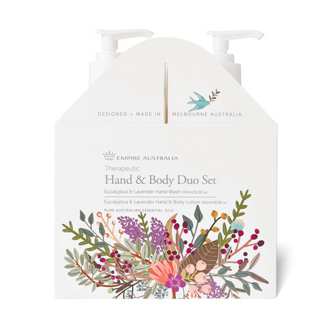 Therapeutic Eucalyptus & Lavender Hand/Body Care Duo 500ml
