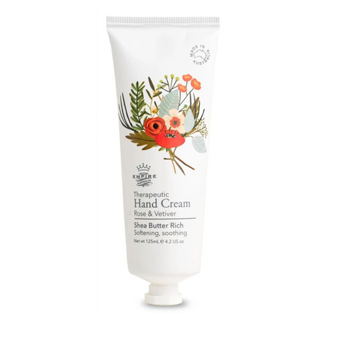 Therapeutic Rose & Vetiver Hand Cream 125mL