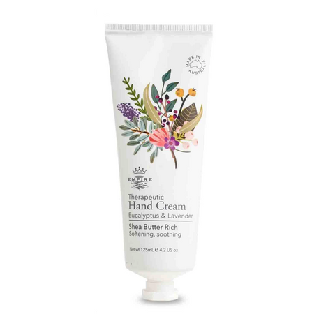 Therapeutic Eucalyptus & Lavender Hand Cream 125mL
