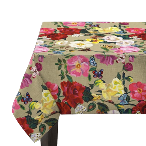 Nathalie Lete Roses Tablecloth Medium