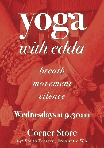 Monthly Pass- Breath Movement Silence - Yoga with Edda