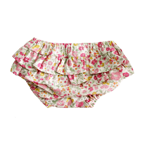 Ruffle Bloomers Rose Garden MEDIUM 6-12 months