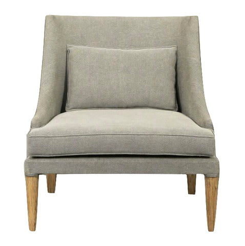 Albi Armchair in Grey Upholstery