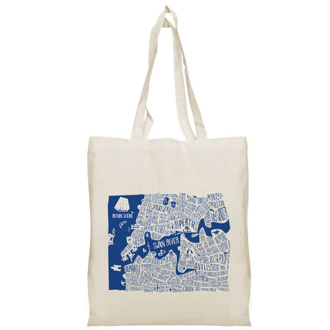 Perth Burbs Tote Bag