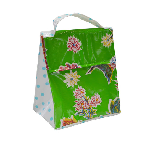 Insulated Lunchbag Mums Green