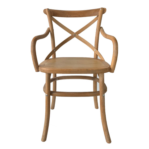 Croix Carver Armchair Weathered Oak