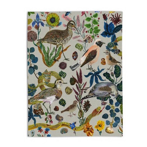 Nathalie Lété Birds In The Dunes Tea Towel