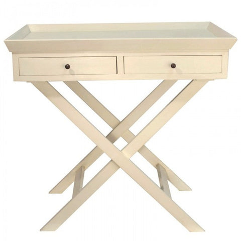 Brigitte Side Table Antique White