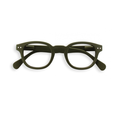 Izipizi Reading Glasses #C Khaki Green
