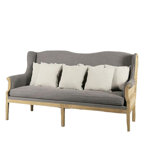 Cannes Sofa Washed Grey