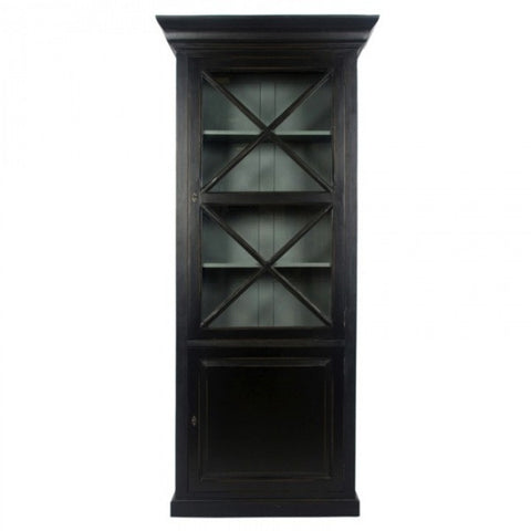 Croix Cupboard Antique Black
