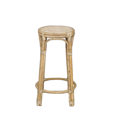 Remy Rattan Bar Stool - Available January 2021