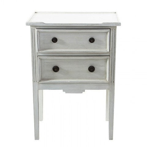 Moreno Bedside Antique White