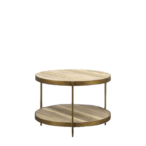 Alma Round Coffee Table Bamboo